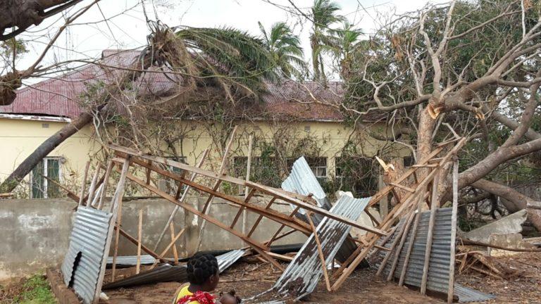 CICLÓN DINEO, ¡Colabora para restablecer la situación en Inhambane!