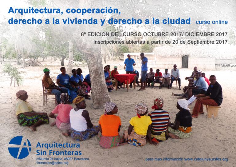 CURSO ONLINE: ARQUITECTURA, COOPERACIÓN, DERECHO A LA VIVIENDA Y DERECHO A LA CIUDAD