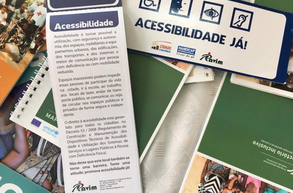 """Convocatoria PCR en Mozambique: """"Diseño participativo del espacio urbano con especial atención a la accesibilidad universal y seguridad para colectivos vulnerables"""""""