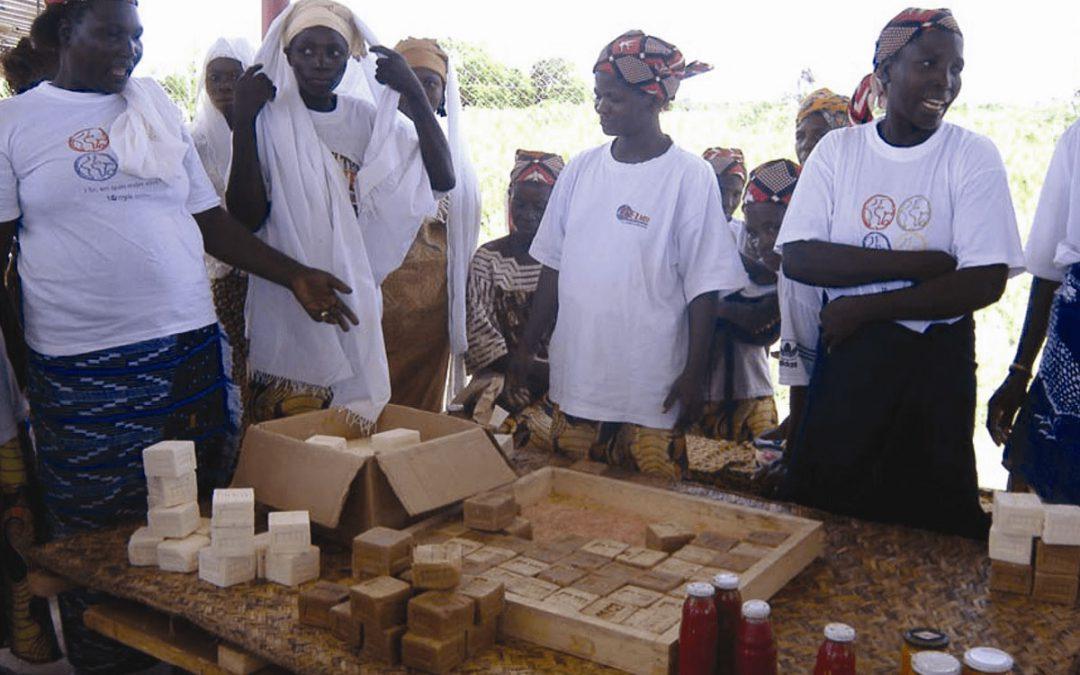 2006. Centro de acogida y formación para Paysans Sans Frontieres en Bingo