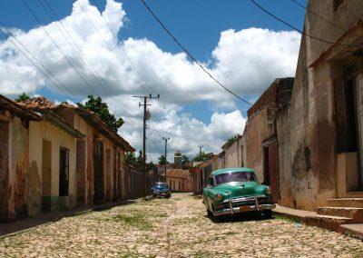 Rehabilitación de una escuela en Trinidad