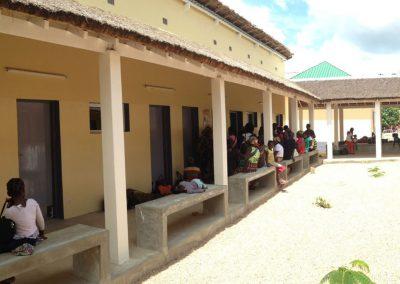 Ampliación del Centro de Salud de Cumbana en Inhambane