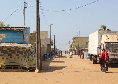 Mejoramiento de condiciones higiénico sanitarias en barrios de extensión de Joal Fadiouth