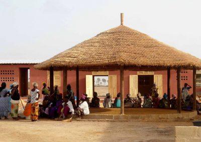 Asistencia técnica para la fundación mujeres: talleres de producción en Mar Lothie