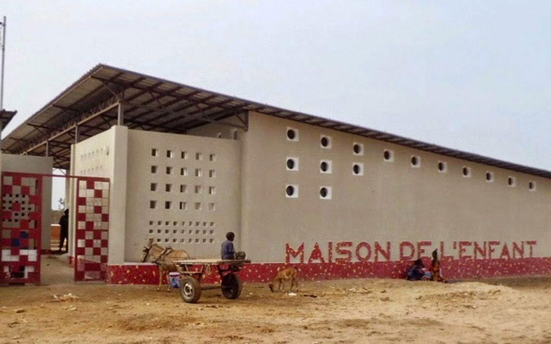 Casa del niño en barrios de extensión de Joal Fadiouth