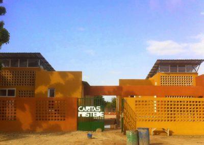Ampliación de la cobertura sanitaria en el barrio de extensión de cáritas en Joal Fadiouth