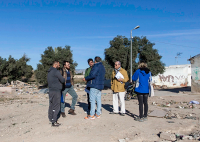 Formación a la Auto-Construcción Acompañada en el barrio del Cementerio. Actividad integrada dentro del proyecto ASERTOS