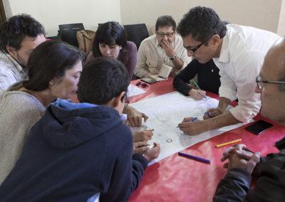 (2016) «Plan de Barrio Casco Norte. Jornada de participación ciudadana sobre movilidad y espacio público»