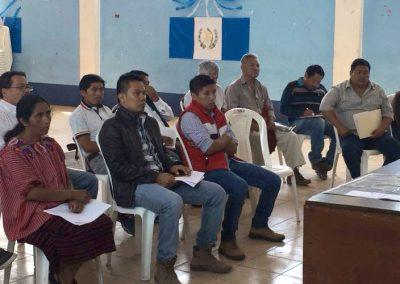Fortalecimiento comunitario para la gestión de los recursos hídricos y el saneamiento a nivel municipal, acompañado de un plan de gestión para el Municipio de San Illdelfonso Ixtahuacán, Guatemala.