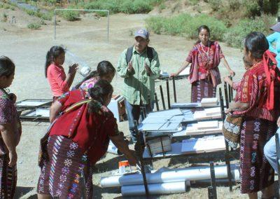 (2017-2018)«Mejora de la calidad de vida de 60 mujeres indígenas y sus familias de 3 comunidades del Municipio de San Ildelfonso Ixtahuacán, Guatemala»
