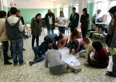 (2017-2018) «Proyecto de difusión del derecho al hábitat, con especial incidencia en modelos de gobernanza participativos, a través de la sensibilización y la educación no formal de agentes multiplicadores clave y alumnado de secundaria en la ciudad de A Coruña»