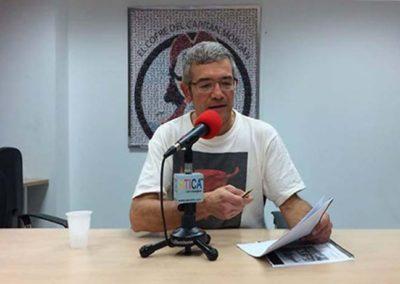 Intervenciones Radiofónicas – Pamplona, Navarra.