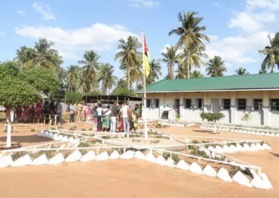 Rehabilitación y reconstrucción de escuelas primarias afectadas por el Ciclón DINEO en Maxixe y Massinga