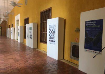 Exposicion sede AECID en Cartagena Indias