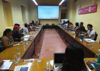 Encuentro sede AECID en Cartagena Indias