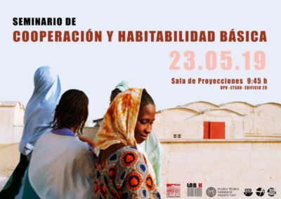 (2019) «Seminario de habitabilidad básica y cooperación»