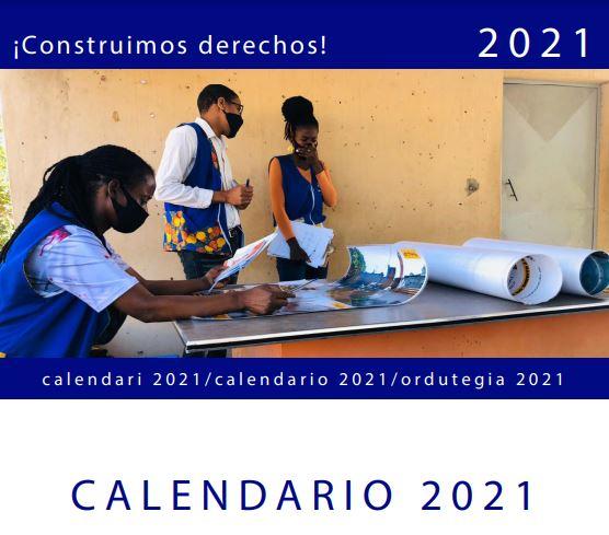 Calendario ASF 2021