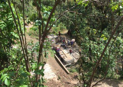 ¡Activo!«Organización para la protección de nacimientos importantes mediante la construcción de letrinas aboneras en 5 comunidades Maya Mam»