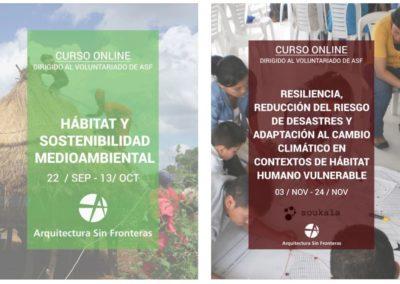 (2020) «Hábitat y sostenibilidad medioambiental. Fortalecer la formación del voluntariado»